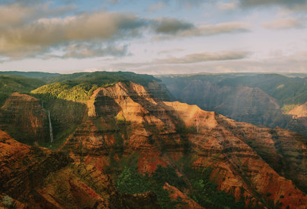 Waimea Canyon at Dusk on Kauai